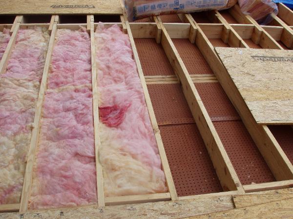 Sub floor for Floor joist insulation