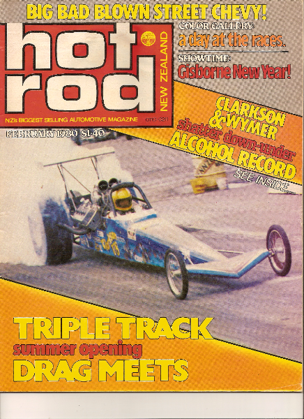 It even got a write up in the February 1980 New Zealand Hot Rod Magazine
